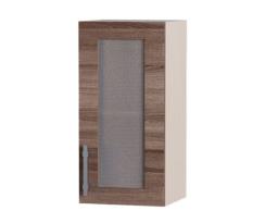 Навесной шкаф Палермо ВВ01-400 1 витрина, Эверест