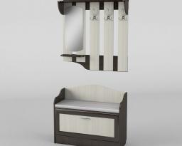 Прихожая-02, Тиса-мебель