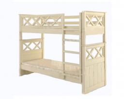 Двухъярусная кровать Мальта, без ящиков, Mebigrand