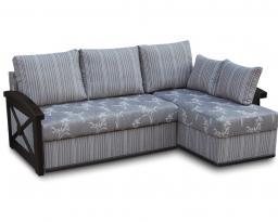 Угловой диван Женева с длинным боком, Bis-M