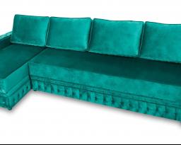 Угловой диван Рим тройной с оттоманкой, Bis-M