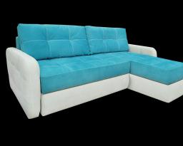 Угловой диван Флорида с оттоманкой, Nota