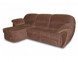 Угловой диван Лаура с оттоманкой, Bis-M