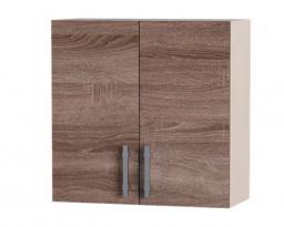 Навесной шкаф Палермо ВВ06-800 сушка 2 витрины, Эверест