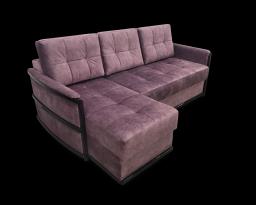 Угловой диван Тина-1 с оттоманкой, Nota