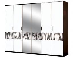 Шкаф 6Д Бася новая, Світ меблів