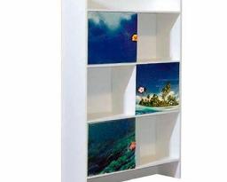 Шкаф книжный Мульти, Дельфины, Світ меблів