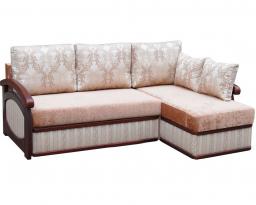 Угловой диван Прага с оттоманкой, Bis-M