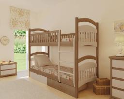 Двухъярусная кровать Жасмин, без ящиков, Mebigrand