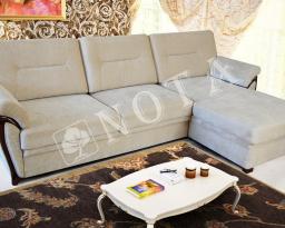 Угловой диван Лоран с оттоманкой, Nota