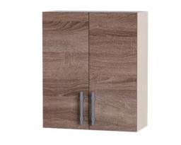 Навесной шкаф Палермо ВВ06-600 2 витрины, Эверест
