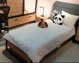 Кровать Лофт с наклонным быльцем, Світ меблів