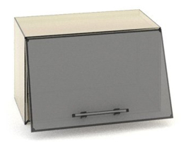 Навесной шкаф Оптима В09-600 с витриной, Эверест