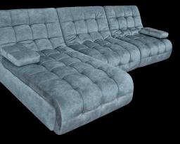 Угловой диван Каир 2 с оттоманкой, Nota